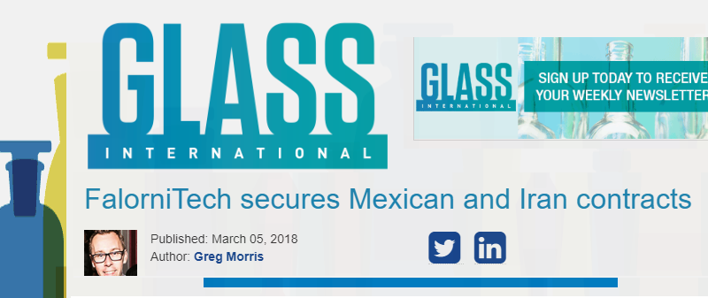 Solutions for container glass production: case history in Iran and Mexico