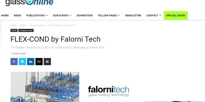 Falorni Tech on Glass Online
