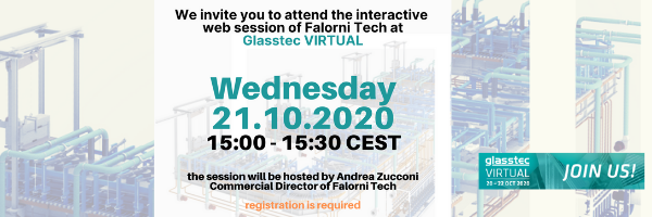 Falorni Tech live web session at Glasstec Virtual 2020